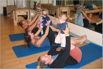 Pilates for Mommies